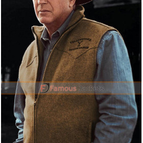 Yellowstone John Dutton Brown Vest