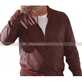 Matt LeBlanc Episodes Bomber Leather Jacket