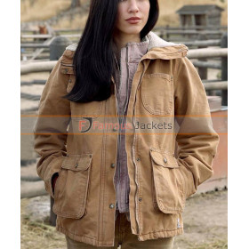Women's Outfit Yellowstone Kelsey Chow Cotton Coat