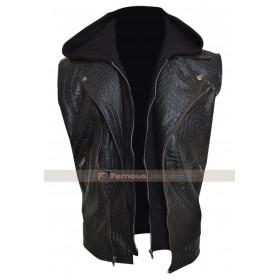 WWE Allen Neal Jone Leather Vest