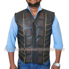 Three Dark Matter Anthony Lemke Leather Vest