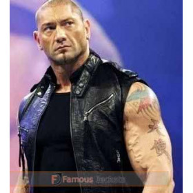 WWE Dave Batista Leather Vest UK