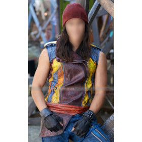 Descendants 2015 Jay (Booboo Stewart) Leather Vest Costume