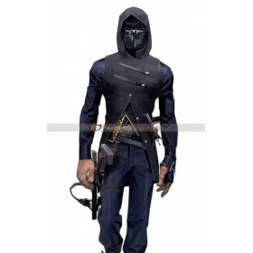 Dishonored 2 Corvo Attano Costume Black Leather Vest