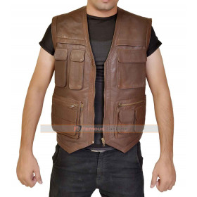 Jurassic World Chris Pratt (Owen Grady) Hunter Biker Vest