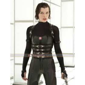 Resident Evil Retribution Alice Black Vest Costume