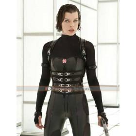 Resident Evil Retribution Alice Black Vest Costume