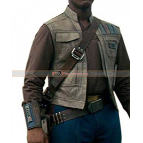 Finn Star Wars Rise of the Skywalker Brown Vest