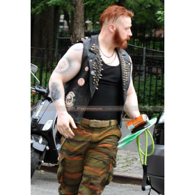 Rocksteady Teenage Mutant Ninja Turtles 2 Sheamus Spiked Vest