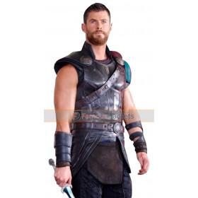 Chris Hemsworth Thor Ragnarok Leather Vest