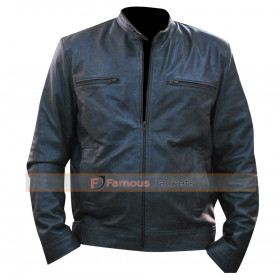 WWE Dean Ambrose Grey Leather Jacket