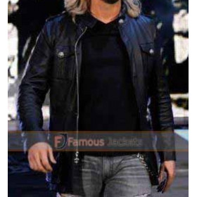 WWE Edge Wrestler Black Leather Jacket