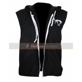 Wwe Superstar Randy Orton Rko Snake Black Hood Vest