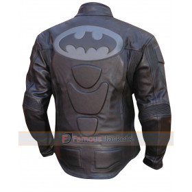 GP Batman Armor Motorcycle Racing Leather Jacket