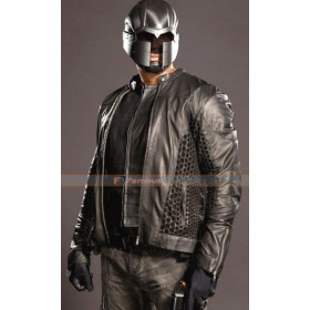 Arrow Season 4 John Diggle (David Ramsey) Biker Leather Jacket