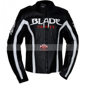 Blade Trinity Motorcycle Leather Jacket