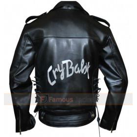Johnny Depp Cry Baby Wade Walker Motorcycle Black Jacket