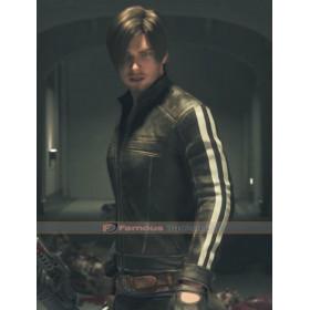 Leon Kennedy Resident Evil 7 Vendetta Leather Jacket