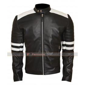 Ian Nerve Movie Dave Franco Biker Leather Jacket