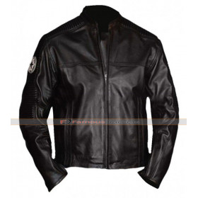 Star Wars Imperial Biker Black Leather Jacket