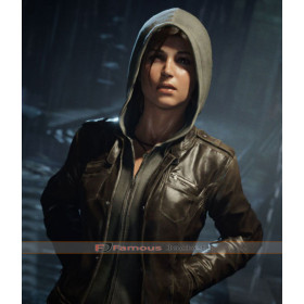 Tomb Raider 2018 Lara Croft Leather Jacket