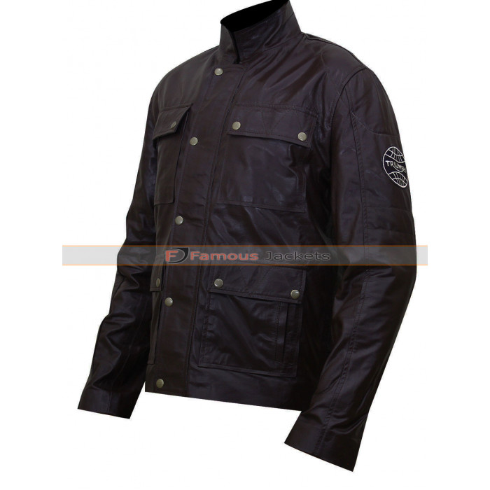 Triumph motorcycle leather jacket