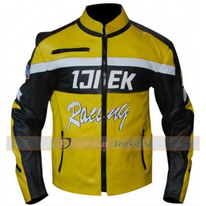 Dead Rising 2 Chuck Greene Motorcycle Warrior Leather Jacket