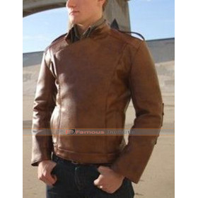 The Rocket Brown Motorcycle Leather Jacket