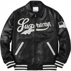 Supreme Uptown Studded Unisex  Varsity Jacket