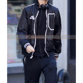 Baby Driver Ansel Elgort (Baby) Black Jacket