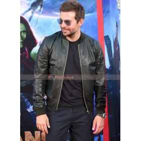 Guardians Of The Galaxy Premiere Bradley Cooper Jacket