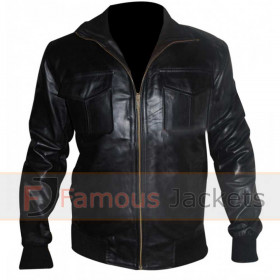 Now You See Me Dave Franco (Jack Wilder) Black Leather Jacket