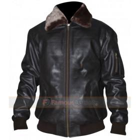 Pilot Vintage Men A2 Bomber Leather Jacket