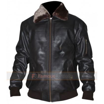 Pilot Vintage Men A2 Bomber Leather Jacket