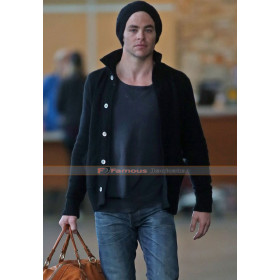 Chris Pine Star Trek Beyond Black Wool Jacket