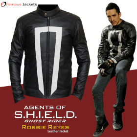 Ghost Rider Agents Of Shield Robbie Reyes Leather Jacket