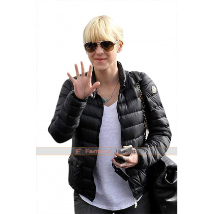 Anna Faris American Actress Running Errands Jacket