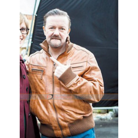 David Brent: Life on the Road Brown Jacket