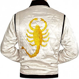 Replica Drive Scorpion Ryan Gosling Satin Jacket For Sale