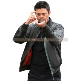 John Karl Urban Almost Human bomber  Jacket