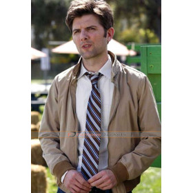 Parks and Recreation Adam Scott (Ben Wyatt) Bomber Jacket