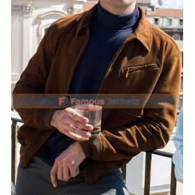 The Man From Uncle Armie Hammer (Illya Kuryakin) Brown Jacket
