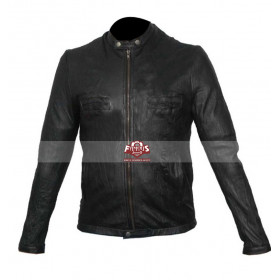 17 Again Zac Efron Oblow Black Leather Jacket