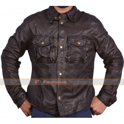 Addicted William Levy Biker Leather Jacket
