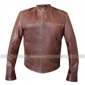 Agents of Shield Brett Dalton (Grant Ward) Leather Jacket