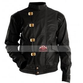 Akira Kaneda Capsule Black Biker Leather Jacket
