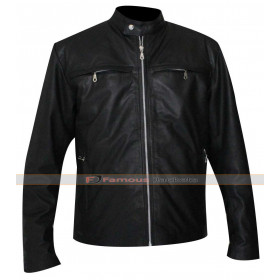 Alex Rider Operation Stormbreaker Pettyfer Leather Jacket