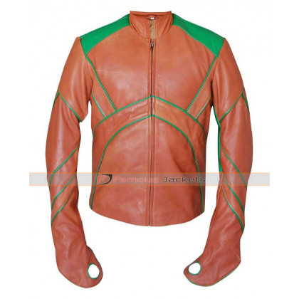 Aquaman Arthur Curry Smallville Leather Jacket