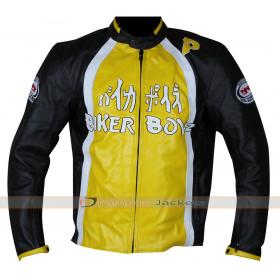 Biker Boyz Derek Luke Yellow Motorcycle Jacket