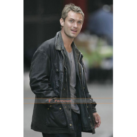 Breaking and Entering Jude Law (Will) Leather Jacket